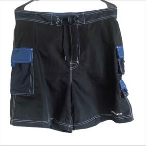 Tommy Hilfiger Men Swim Trunk with inner Brief